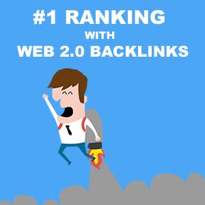 Rank no.1 with Web 2.0 Backlinks