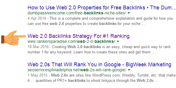 Make sure that your keyword appears in your Title Tag