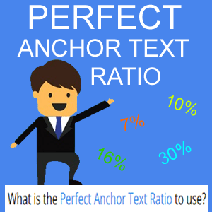 I will reveal the perfect anchor text ratio to use