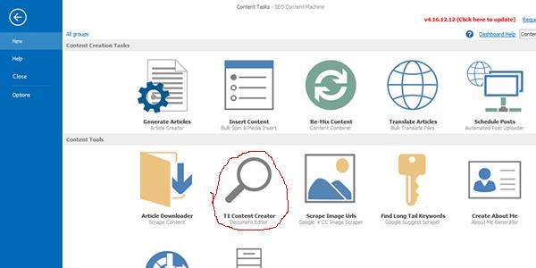 Select the Tier 1 content creator icon