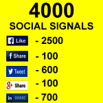 4000 Powerful Social Signals