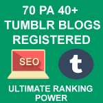 Register 70 High PA Tumblr Blogs