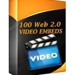 web 2.0 video embeds