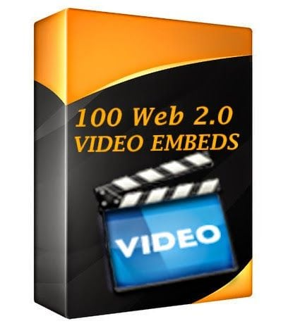 web 2.0 video embeds