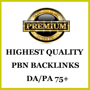 Premium Quality Private Blog Network Backlinks DA PA 75+