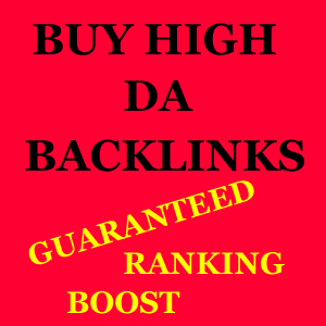 Buy high da backlinks