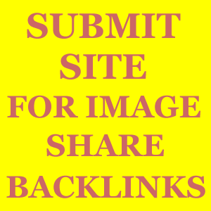 Submit Site for Backlinks for image share website