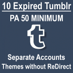 Buy Expired Tumblr